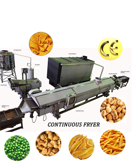 Continuous Oil Fryer slider